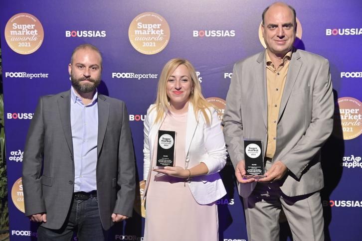 Το myDATA Hub του Ομίλου Epsilon Net βραβεύτηκε με Silver Award στα Supermarket Awards 2021